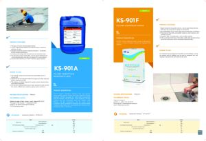 Ks-901f Polymer Waterproof Mortar with High Polymer Emulsion pictures & photos