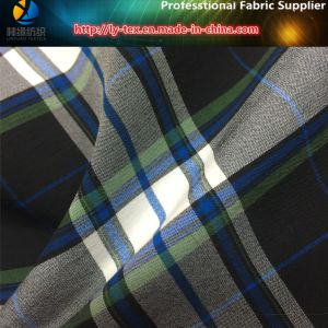 German Nylon Yarn Dyed Elastic Fabric, Nylon Spandex Fabric with Anti-UV for Garment pictures & photos