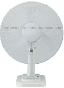 "16"" AC DC Desk Fan 15W Electric Table Fan pictures & photos"