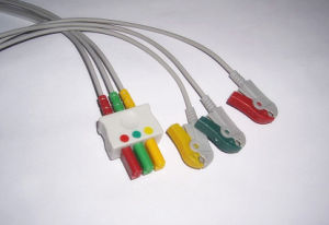 Siemens IEC 3 Clip Leadwire ECG Cable pictures & photos