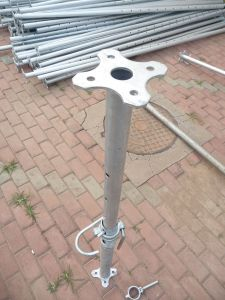Q235 Shoring Prop/Galvanized or Electrophoretic Painting Push Pull Props/Shoring pictures & photos