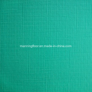 Customized Indoor Green PVC Sports Floor Roll for Tennis Badminton 4.5m Weave Pattern pictures & photos