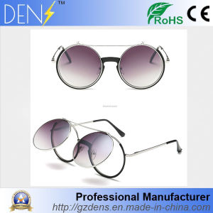 Men Women Retro Vintage Round Mirrored Sunglasses pictures & photos