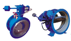 Damping Butterfly Check Valve (GLHDH744X) Intelligent Automatic Control pictures & photos