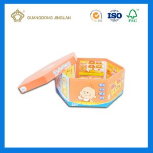 Top High Quality Custom Hexagon Rigid Paper Box (With Lid) pictures & photos