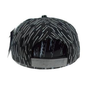 Black White 5 Panel Supreme Hat Camper Cap Leisure Cap pictures & photos