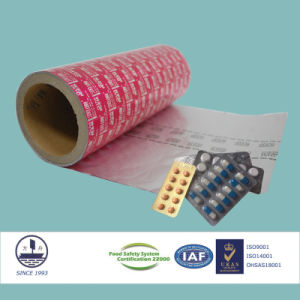 0.024mm Thickness Aluminum Bottom Foil for Pharmaceutical Packaging (Alloy 8011 H18) 9-Colored pictures & photos