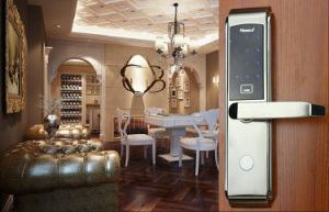 Most Popular Strong Electronic Hotel Door Lock (HA6026) pictures & photos