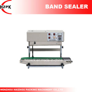 Fr-770 Vertical Automatic Continuous Band Sealer Band Sealing Machine From China pictures & photos