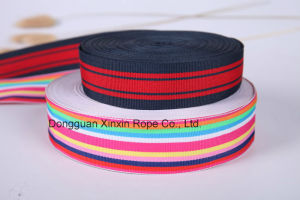 Hot Customize Binary Color Jacquard Webbing for Wrapped Box Handle pictures & photos