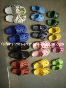 Wholesale Children Garden Shoes Stocks Slip-on Slippers (FFSS0413-02) pictures & photos