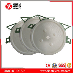 Round Chamber Type Filter Plate with PP Material pictures & photos