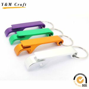 Promotional Gift Customized Metal Aluminium Blank Keychain Bottle Opener pictures & photos