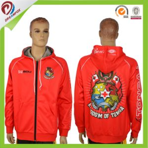 Sublimated Hoodie, Custom Made Hoodies, Red Green Plain Blank Hoodie pictures & photos