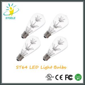 Stoele St64 2W Starry LED Bulb Edison Lamp Energy-Saving String Light pictures & photos