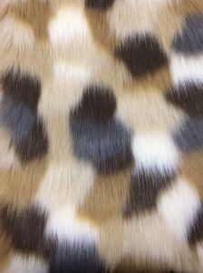 Jacquard Faux Fur