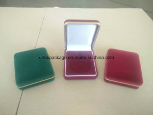Factory Wholesale Flock Jewelry Box