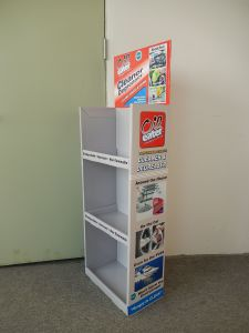 Cardboard Floor Display, Point of Purchase Display Stand Shelf pictures & photos