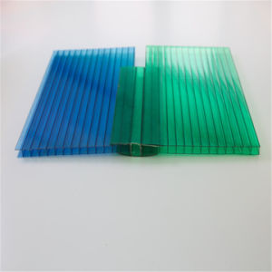 100% Virgin Material PC Crystal Hollow Sheet for Panels pictures & photos