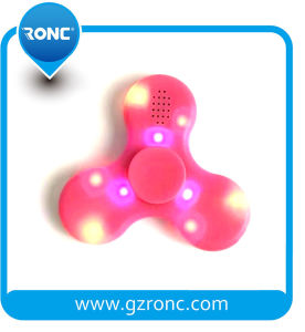 Wholesale Focus Fidget Toy LED Hand Spinner with Bluetooth Speaker pictures & photos
