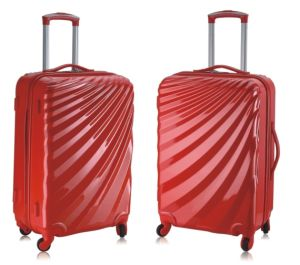 20/24/28 ABS+PC Luggage with Zipper Style Shell Shape pictures & photos
