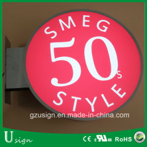 Outdoor Advertising LED Plastic Light Box for Store pictures & photos