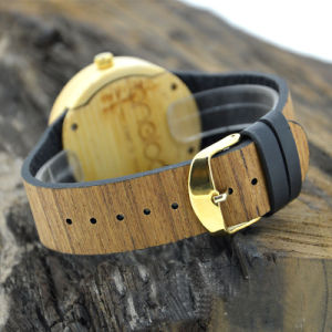 High Quality Wood Grain Wooden Watch pictures & photos