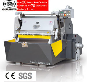 Die Cutting Machine for Hard Materils (ML101D) pictures & photos