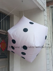 Popular Hanging Giant Inflatable Dice for Decoration pictures & photos