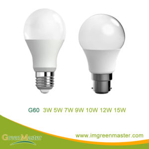 G60 7W Plastic Aluminum LED Bulb pictures & photos