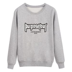 Custom Women Cotton Fleece Fashion Crewneck Sweatshirts Sports Pullover Top Clothing (AL050) pictures & photos