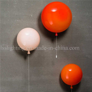 European Style Glass Red Balloon Wall Lamps for Indoor Lighting pictures & photos