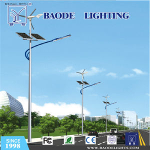 6m Steel Pole 30W LED Solar Wind Street Light (bdtyn-a3) pictures & photos