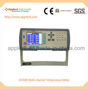 Multi-Channel Temperature Data Logger with 8 Channels (AT4508) pictures & photos