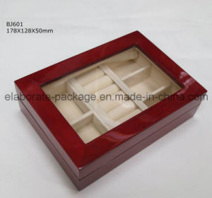 Handicraft High-End Gloss Finish Wooden Gift/Jewelry Packing Box pictures & photos