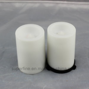 Romantic Fire Safe Portable Garden Ornamental LED Flameless Pillar Candles pictures & photos