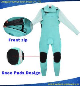 Customized 3mm Neoprene Super Aqua Stretch Fabric Full Wetsuit pictures & photos