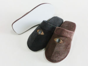 Indoor Home Warm Men Nice Warm Slipper for Winter pictures & photos