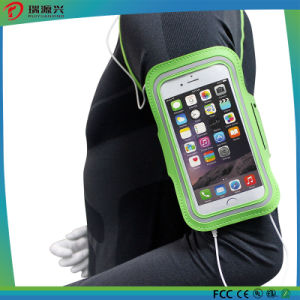 Chargeable Li-Polymer Battery Armband Neoprene Waterproof Sport Armband Phone Case pictures & photos