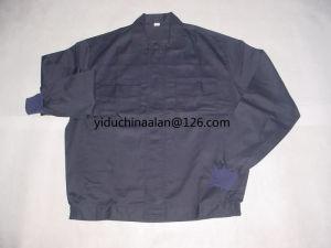 Dark Blue Jacket with Thread Cuff pictures & photos