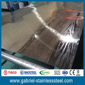 Custom Etching 0.7mm Thick 316L Stainless Steel Plate Manufacturers pictures & photos