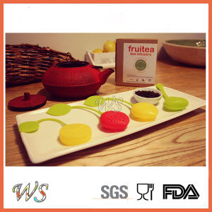 Ws-If047s Silicone Tea Infuser Set Food Grade Leaf Strainer Tea Filter pictures & photos