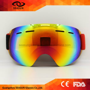 2017 New Design Ski Goggles Double UV400 Anti-Fog Big Ski Mask Glasses Skiing Men Women Snow Snowboard Goggles pictures & photos