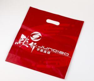 Custom Logo Design Printing Die Cut Handle Bag PE Plastic Shopping Bag pictures & photos