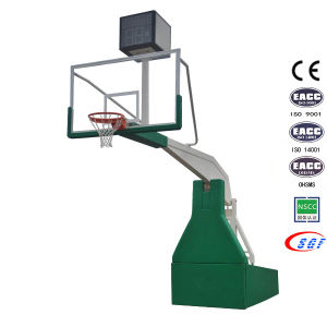 Professional Sports Equipment Indoor Hydraulic Basketball Hoop Basketball Stand Base pictures & photos