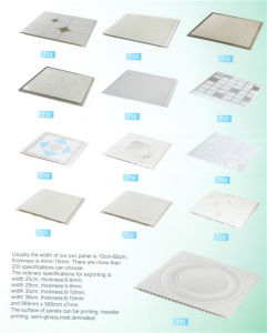 Building Material PVC Ceiling Designes PVC Wall Panel Price pictures & photos