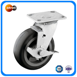 Heavy Duty Tread Lockable PU Casters pictures & photos