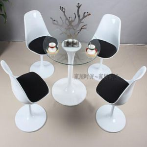 Modern Classical Tulip Revolving Dining Chair pictures & photos