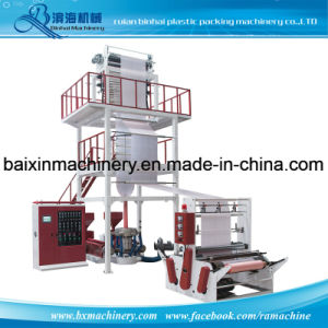 HDPE/LDPE Film Blown Machine with Rotary-Die Head and Double Winder pictures & photos