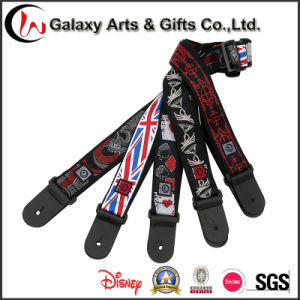 Custom Design Sublimation Embroidery Pattern Guitar Strap pictures & photos